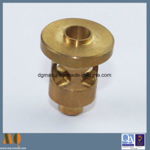 Precision Brass CNC Lathe Processing Parts & Precision CNC Turning Parts (MQ2054) pictures & photos