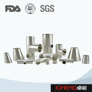 Stainless Steel Food Grade Welded 90d Elbow Pipe Fitting (JN-FT3004) pictures & photos
