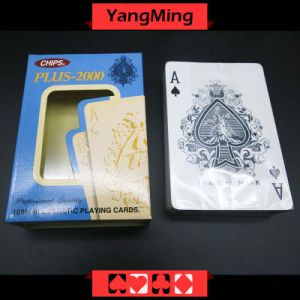 100% Plastic Poker Playing Cards Ym-PC10 pictures & photos