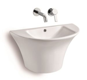 G802 Wall Mounted Ceramic Basin pictures & photos