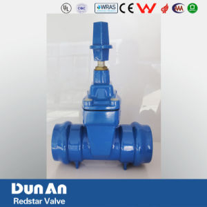 Socket End Non-Rising Stem Resilient Seated Gate Valve for PVC Pipe pictures & photos