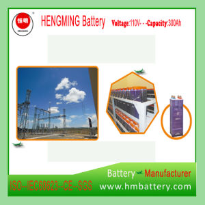 Hengming Gnz10-1200 (12V-220V) 10-1200ah Pocket Type Nickel Cadmium Battery Kpm Series (Ni-CD Battery) Rechargeable Battery pictures & photos