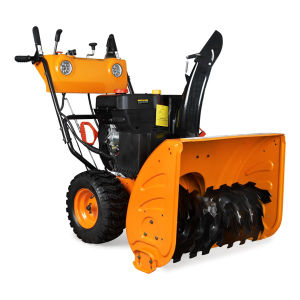13HP Recoil & Battery Starter Gasoline Snow Blower pictures & photos