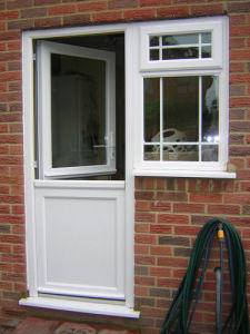 Windows Doors PVC Profile pictures & photos