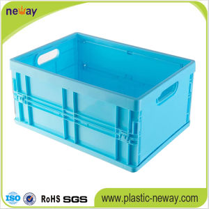 Large Foldable Plastic Storage Box pictures & photos