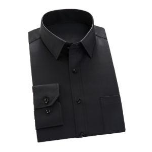 Factory Men Cotton Dress Shirt Formal Business Shirt pictures & photos