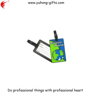 Wholesale Cutomized Logo PVC Luggage Tag (YH-LT020) pictures & photos
