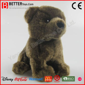 Realistic Stuffed Plush Brown Bear Kids Toy pictures & photos