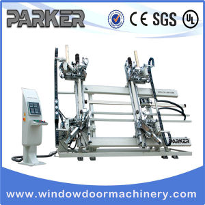 CNC PVC Window Door Four Corner Vertical Welding Machine pictures & photos
