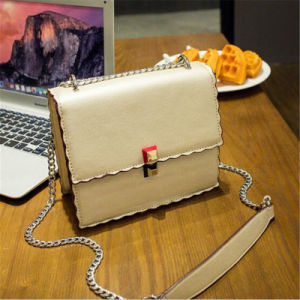 2017 New Lock Wave Side Bag / Korean Board Single Shoulder Hand Bag (GB#B-017) pictures & photos