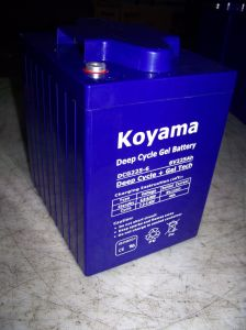 Solar 6volt Deep Cycle Gel Battery 6V225ah Lead Acid Battery pictures & photos