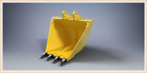 Supply High Quality Komatsu V Type Trapezoidal Bucket pictures & photos