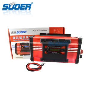 Suoer 24V 220V 1500W Inverter Pure Sine Wave Inverter (FPC-D1500B) pictures & photos