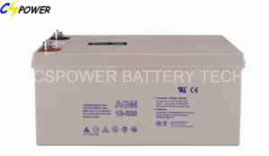 Deep Cycle AGM Battery 12V200ah for Solar, UPS, Telecom pictures & photos