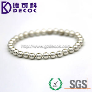 Customized Rose Gold/ Silver Plated Drilled 316 316L Jewelry Stainless Ball pictures & photos