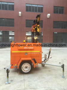 Mining Application Waterproof Hydraulic DC LED Mobile Light Tower pictures & photos