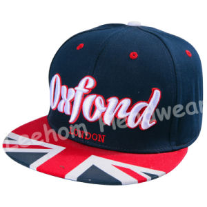 Holiday Snapback 3D Embroidery Beach Fashion Cap pictures & photos