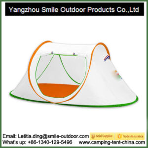 4 Person Modern Professional Camping White Pop up Tent pictures & photos