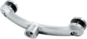 Stainless Steel Precision Casting Engineering Railing Handrail Hardware Fittings Glass Support pictures & photos