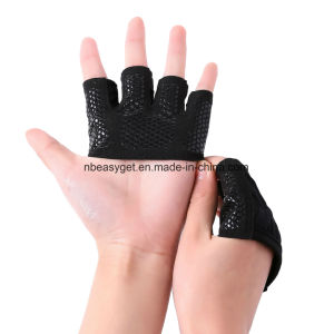 Weight Lifting Gloves - The Gripper Callus Guard Wod Workout Gloves for Cross Training Fit Athletes - Enhanced Silicone Grip Palm Esg10139 pictures & photos