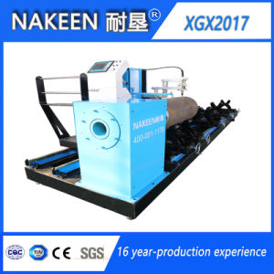 Auto CNC Steel Pipe Cutting Machine with Bevel