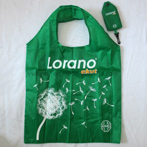 Foldable Recycled Polyester Groceries Tote Promotional Gift Shopping Bag pictures & photos