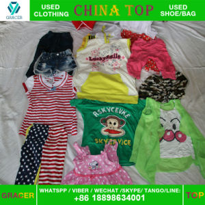 High Quality Used Clothes Chirldren Summer Clothes Good Condition Secondhand Clothes pictures & photos