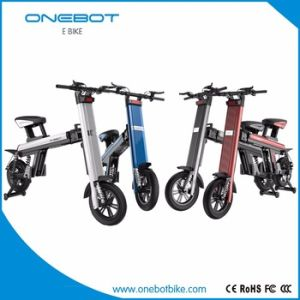 Folding Electric Bike with 8.7ah and 11.6ah Panasonic Lithium Battery pictures & photos