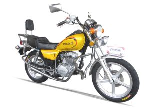 125/150cc Disc Brake Alloy Wheel Double Mufflers Motorcycle (SL125-C1) pictures & photos