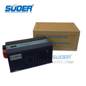 Suoer 1kw/2kw/3kw UPS True Pure Sine Wave Solar Power Inverter pictures & photos