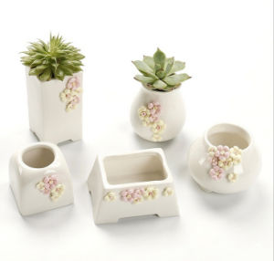 Cute Rabbit Bunny Ceramic Succulent Flower Pot Garden Porcelain pictures & photos