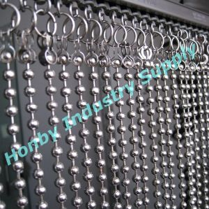 Home Designer Used Silver 6mm Curtain Metal Ball Chain pictures & photos