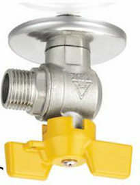 Table/Wall Mountain Male Thread Brass Gas Valve pictures & photos