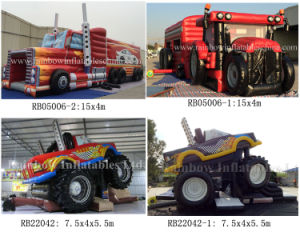 Top Selling Inflatable Truck Obstacle Course Inflatable Lorry for Kids and Adults pictures & photos