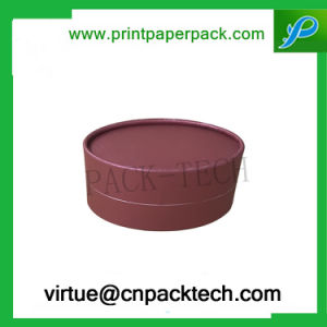Custom New Design Round Shape Cardboard Gift Jewelry Paper Box with Logo Printing pictures & photos