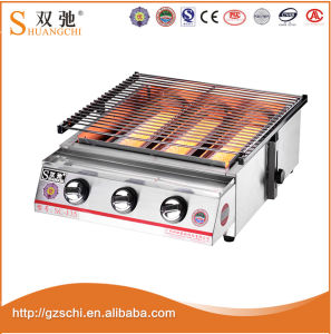 Factory Price Gas&Natural Roaster Machine BBQ Grill pictures & photos