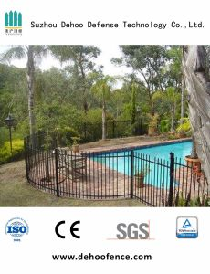 Black Galvanized Metal Privacy Pool Fencing with High Quality pictures & photos