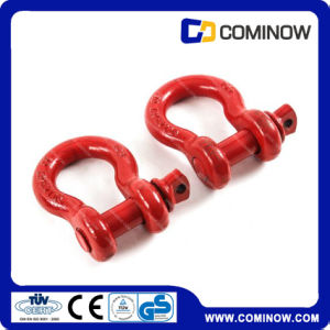 G209 Us Type Screw Pin Anchor Shackle / Drop Forged Alloy Steel Bow Shackle pictures & photos