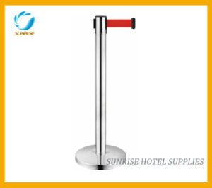 High Quality Stainless Steel Queue Pole for Hotel pictures & photos