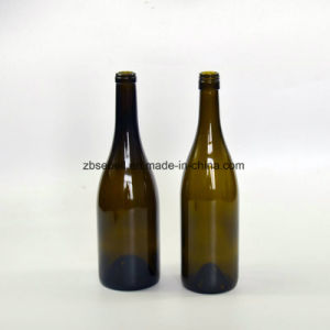 375ml Flint Glass Bottle for Ice Wine with Cork Top (NA-021) pictures & photos