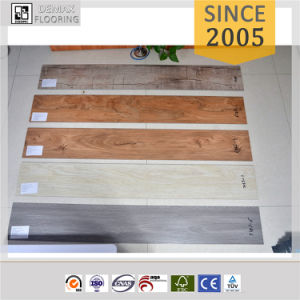 Formaldehyde-Free Commercial Waterproof Loose Lay PVC Vinyl Flooring Tile pictures & photos
