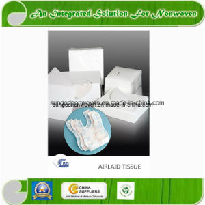 Airlaid Paper with Sap for Sanitary Napkin Diaper pictures & photos