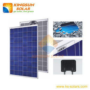 240-270W Polycrystalline Silicone Solar Panel with Ce TUV Approved pictures & photos