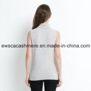 Unique Design Sleeveless Women Pure Cashmere Sweater pictures & photos