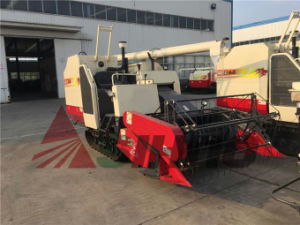 Rubber Track Combine Harvester for Rice and Wheat pictures & photos