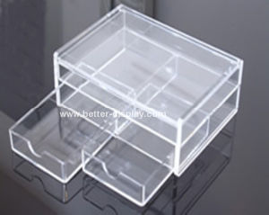 Custom Acrylic Jewellery Display Cabinet Btr-A5002 pictures & photos