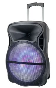 18 Inch Powerful Strip Light Bluetooth Speaker with Trolly--Cx-15D pictures & photos