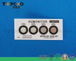 Cobalt Free Brown Hic Moisture Sensitive Humidity Indicator Sensor Card pictures & photos
