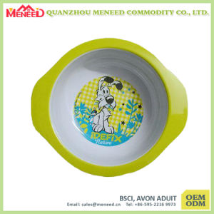 Non-Toxic Unbreakable Melamine Bowl with Handle for Children pictures & photos