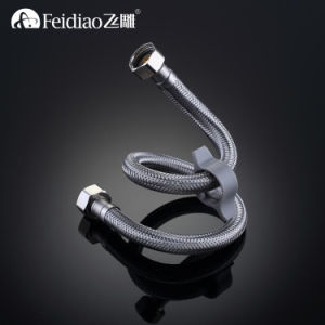 High Quality Low Price Stainless Steel Braided Hose (with spanner) pictures & photos